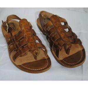 Pikolinos Leather Slingback Sandal Sz 40 Us 9